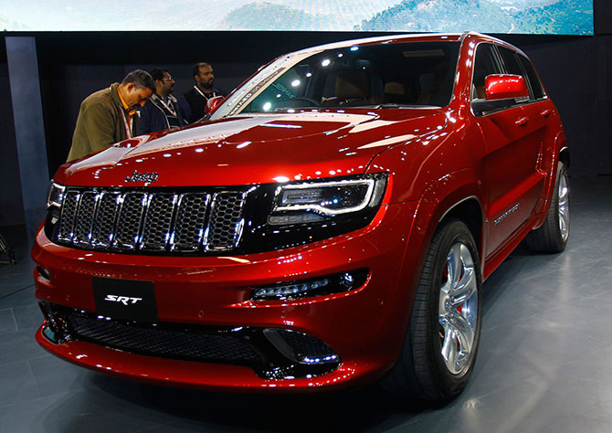 The Long Awaited Chrysler Jeeps Arrive In India Rediff Com Business