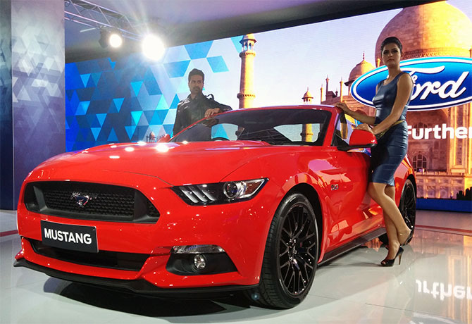 Mustang: The American mean machine is now in India!