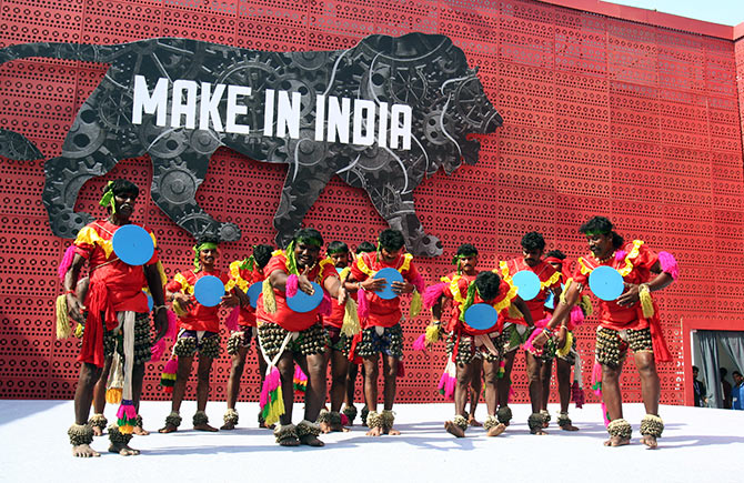 The united colours of Make In India