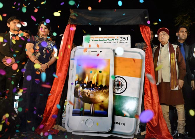 The launch of Freedom 251