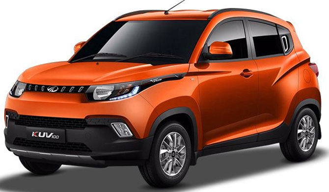 The Rs 4.42 lakh Mahindra KUV1OO is here!