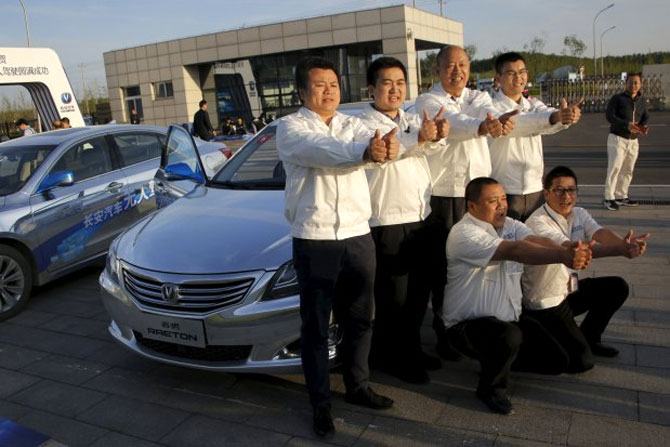 China's oldest auto company revs up for India entry