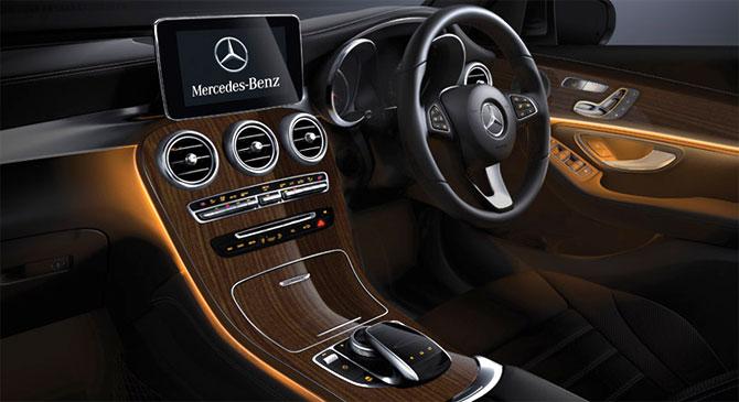 Mercedes-Benz GLC: Glamour meets comfort - Rediff com Business