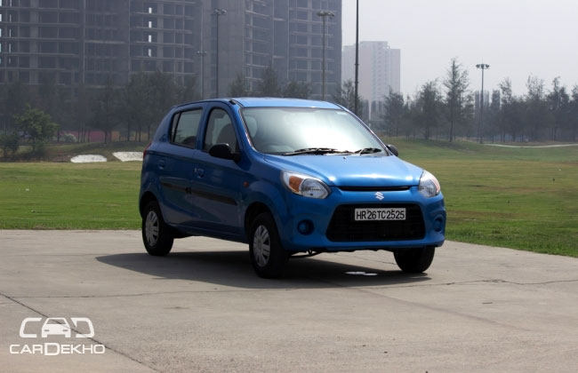 New Alto 800 is old wine in a new bottle