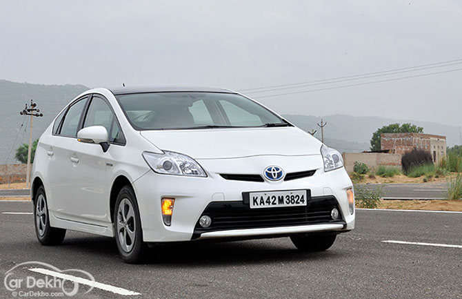 Toyota recalls 170 units of Prius in India