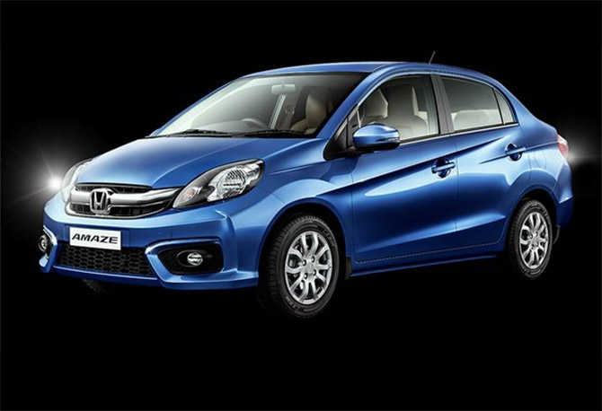 Honda launches new Amaze at Rs 8.19 lakh