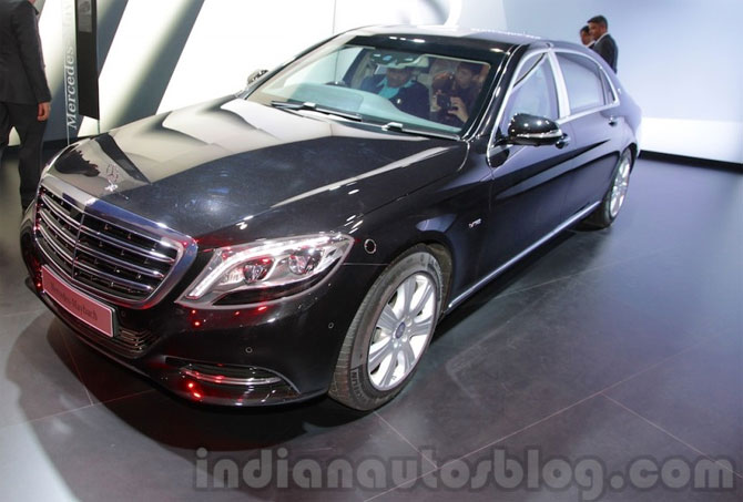 Guess how much this Maybach costs. A whopping Rs 10.5 crore!