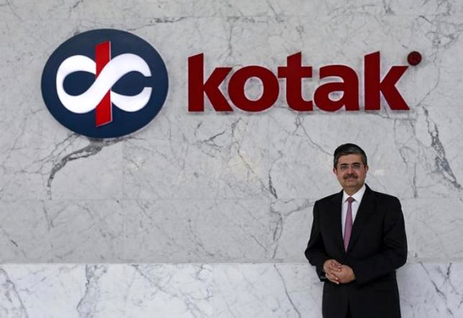 Kotak Mahindra's Uday Kotak. Kotak Mahindra Bank's market cap now equals that of 23 State-owned banks combined.