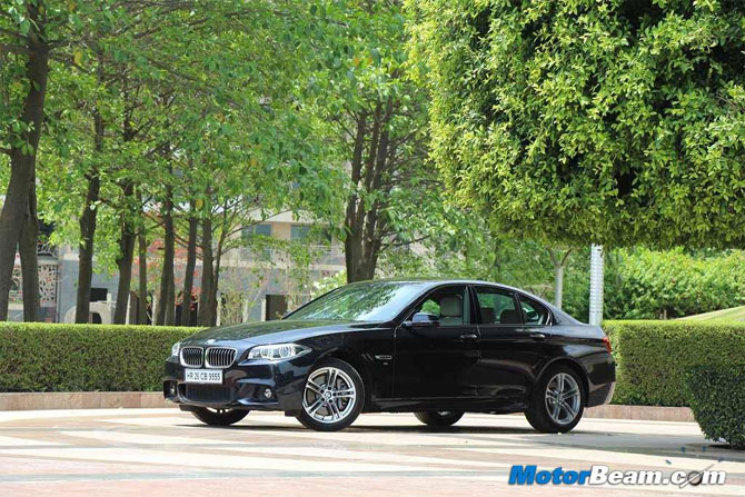 BMW 530d is the spruced up avatar of 5-Series sedan