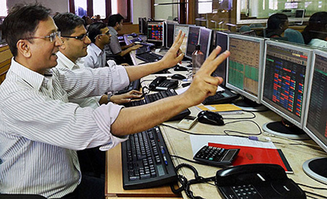 Sensex rebounds; zooms 429 points at close