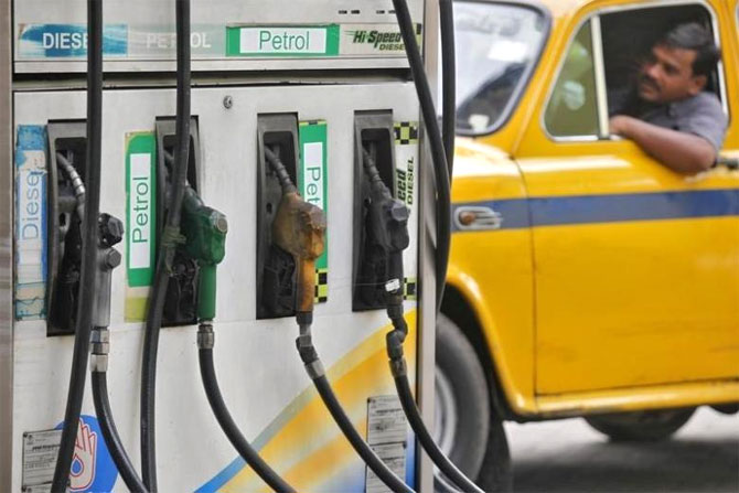 Diesel and Petrol pump