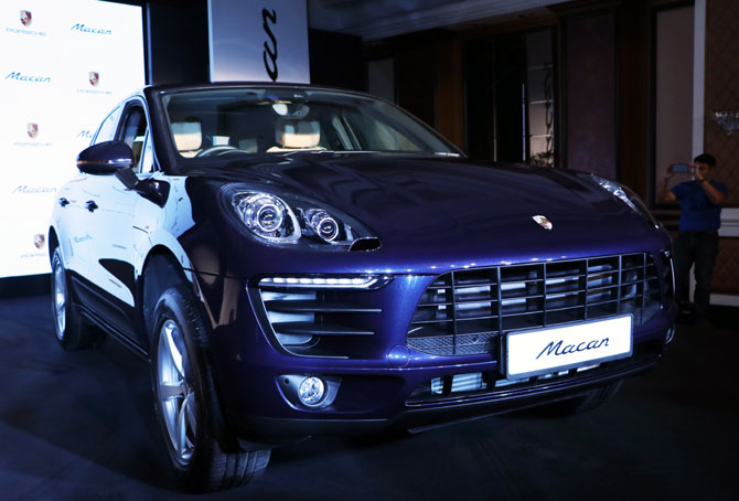 The Rs 76.84-lakh Porsche Macan now in India