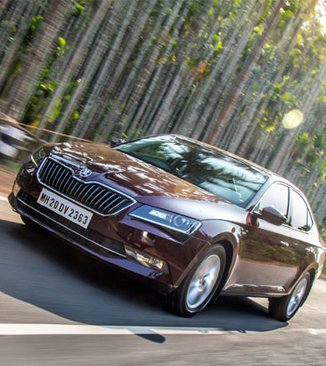 All about the 2016 Skoda Superb