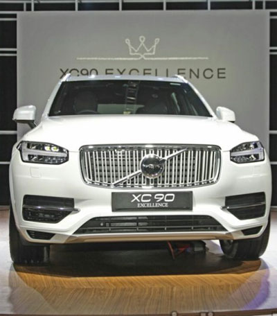 Volvo XC90 Excellence PHEV launched at Rs 1.25 crore
