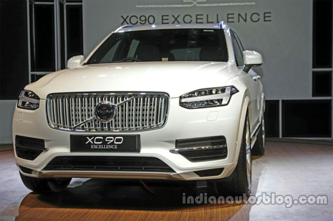 Volvo Xc90 Excellence Phev Launched At Rs 1 25 Crore Hairandbeautybc