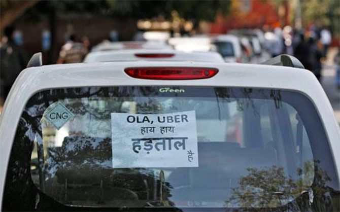 Drivers' woes with Uber, Ola continue even as cos claim to resolve issue