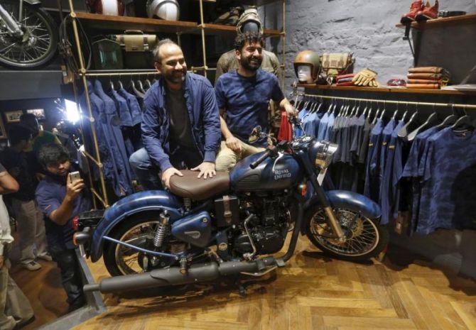 Eicher Motors, Bajaj Auto rev up for battle royal