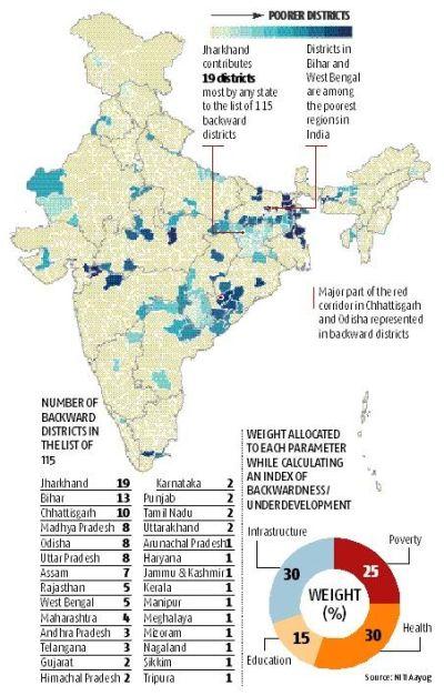 Rural Development Area Map on