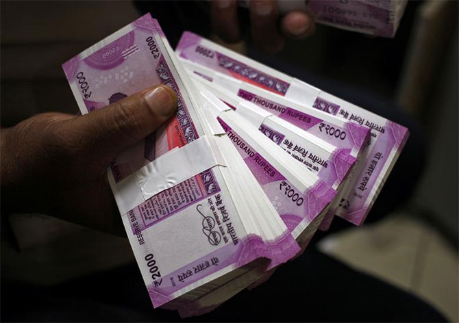 Rupee makes more gains, up 16 paise against dollar