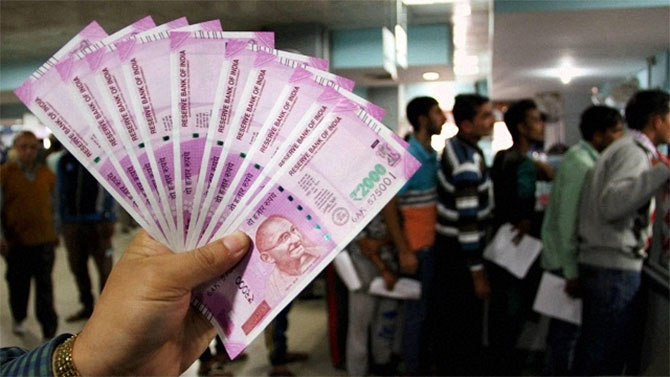 Demonetisation: Rs 3-4 lakh crore tax-evaded income deposited