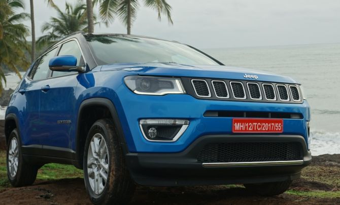 Rs 14.95-lakh Jeep Compass hits Indian roads