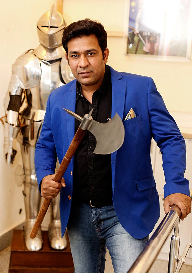 Saurabh Mahajan, MD, Lord of Battles
