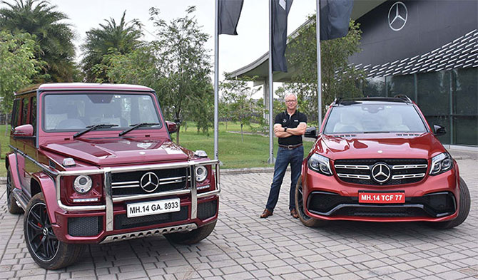 Mercedes launches two SUVs priced up to Rs 2.17 cr