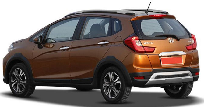 Honda Wr V Is Bold Sporty And Practical Rediffcom Business