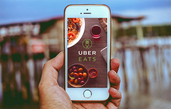 Foodpanda, Uber Eats eye 3rd slot in online food delivery - Rediff