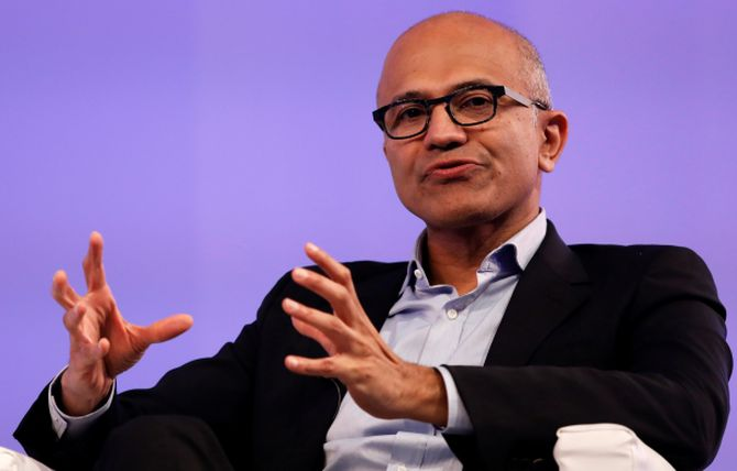 Microsoft CEO Satya Nadella earned $42.9 mn in FY19