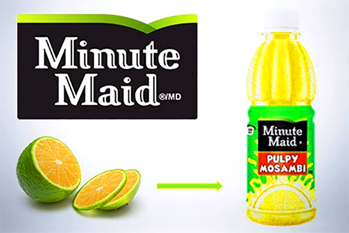 Minute Maid Mosambi. Photo: Courtesy Coca-Cola India