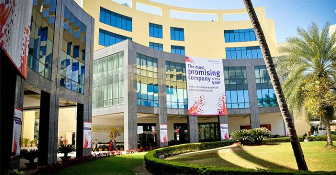Mindtree headquarters in Bengaluru. Photo: Courtesy www.mindtree.com