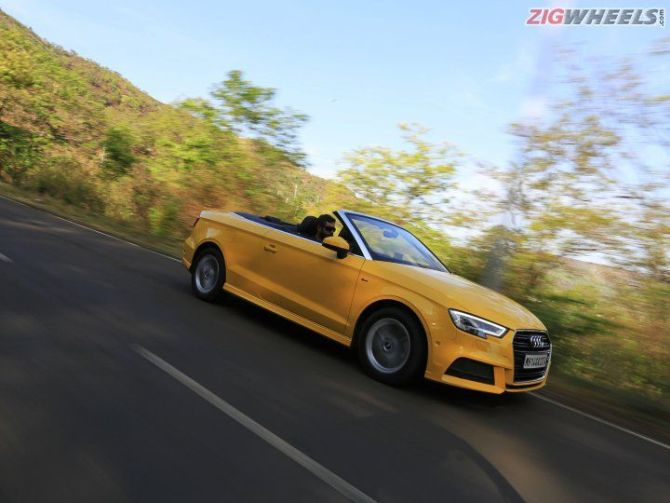 Audi A3 Cabriolet is an indulgence