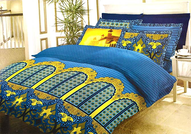 Bombay Dyeing now sells much more snazzy sheets to attract a variety of customers. Photograph: Courtesy Bombay Dyeing/Facebook.
