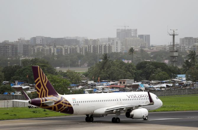 Coronavirus scare: Vistara to cancel 54 int'l flights