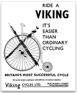 Viking Cycles. Photograph: Courtesy www.avocetsports.co.uk.