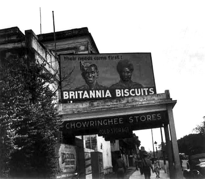 Britannia billborad in Kolkata