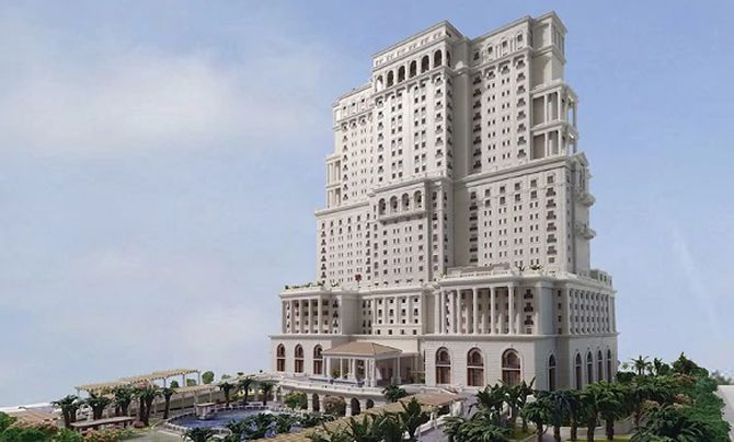 The 450-room ITC Royal Bengal, above, plus the 250-room ITC Sonar will be India's biggest hotel complex. Photograph: Kind courtesy ITC Hotels