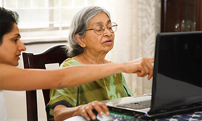 ivhSeniorCare assists seniors with a variety of services. Photograph: Kind courtesy ivhSeniorCare.