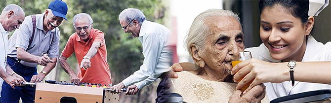 Silver Talkies runs clubs and provides care services for India's elderly. Photograph: Kind courtesy www.silvertalkies.com.