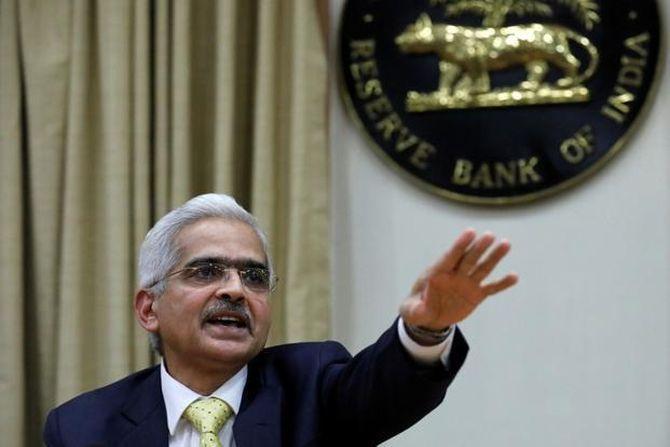 Reserve Bank of India Governor Shaktikanta Das. Photograph: Danish Siddiqui/Reuters