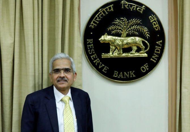 Shaktikanta Das, Reserve Bank of India Governor