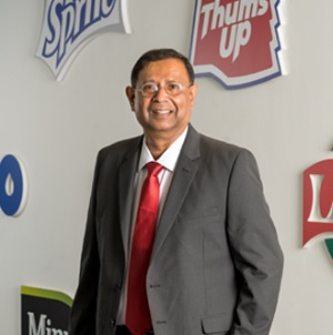 T Krishnakumar, president and chief executive officer, Coca-Cola India
