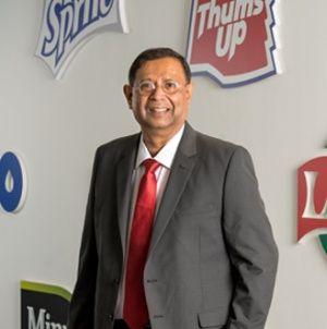 T Krishnakumar, president and chief executive officer, Coca-Cola India