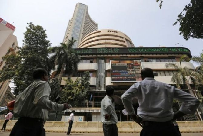 Sensex, Nifty gain ahead of macro data
