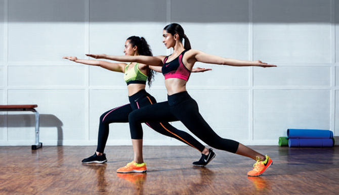 Actor Deepika Padukone is Nike's brand ambassador. Photograph: Courtesy Nike