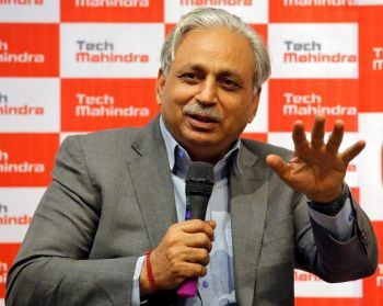 C P Gurnani, CEO & MD, Tech Mahindra, India's highest paid executive