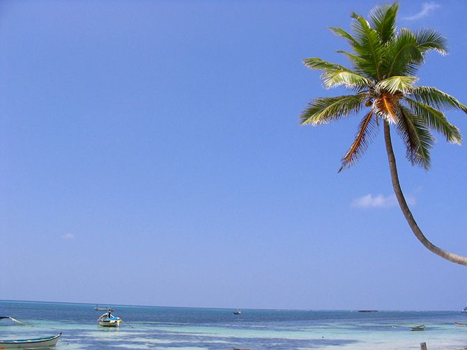 Kavaratti, Lakshadweep. Photograph: Courtesy Thejas/Wikimedia Commons