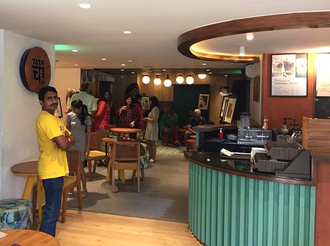 Tata Cha brews some nostalgia along with tea - Rediff com