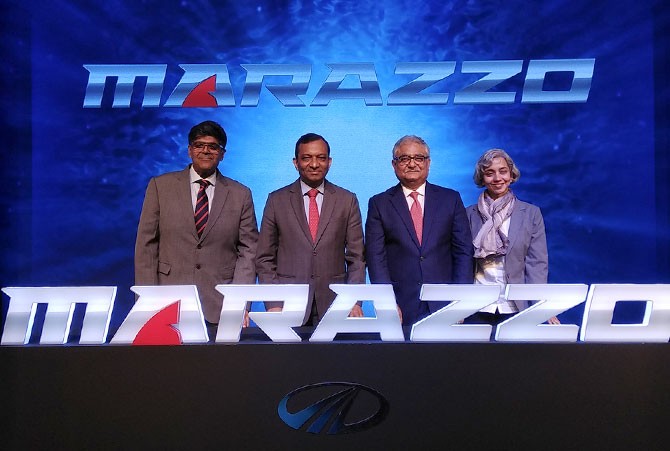 The Mahindra Marazzo pre launch